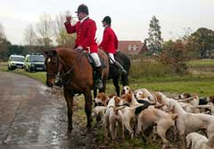 Essex Hunt, just before ban. 2004 ~ HVC
